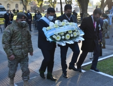 Con una vigilia y un acto central, Curuzú conmemoró los 211 años de la revolución de mayo