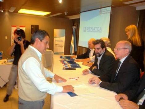 Firma de Convenio con la Secretaría de Empleo de la Nación
