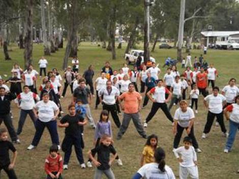 Se realizó el Día de la Actividad Física en mi Municipio