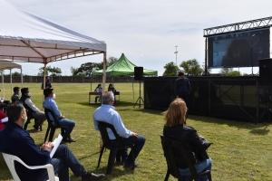 Se realizó la audiencia pública para avanzar con el proyecto del PROMEBA en el asentamiento Etcheto